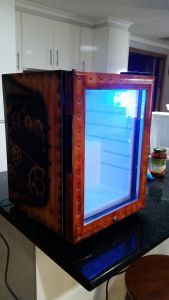 Steampunk Milk Fridge