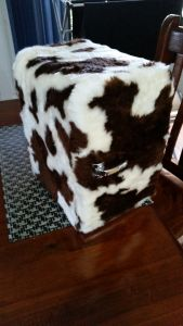 Cowskin Mini Fridge