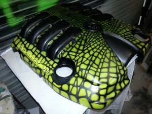 Crocodile Engine Cover